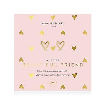Joma Jewellery A Little Beautiful Friend Gold Earrings 4392