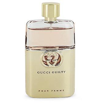 Coupable de Gucci verser Femme Eau De Parfum Spray (Tester) de Gucci 3 oz Eau De Parfum Spray