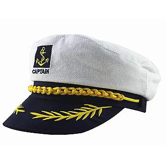 Skipper Sailors Navy Captain Boating Military Hat Cap (1)