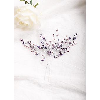 Black Wedding Hair Pins Crystal Decorative Halloween Vine Bobby Pin Clip