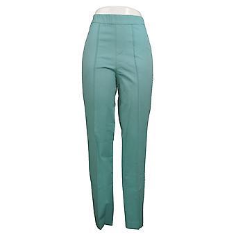 Isaac Mizrahi Live! Women's Pants Stretch Lollipop Ankle Blue A351092