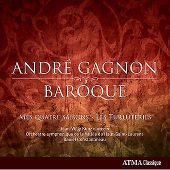 Gagnon / Kunz / Orchestre Symphonique De La Valle - barok [CD] USA import