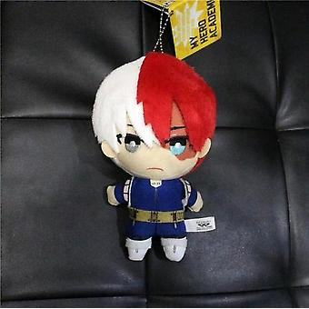 15cm Anime My Hero Academia Izuku Midoriya Katsuki Bakugou Shouto Todoroki Plush Pendant Toy Soft Stuffed Dolls Gift