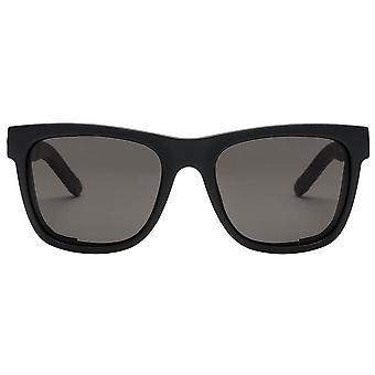 Electric California JJF12 Sunglasses - Matte Black/Polarised Grey