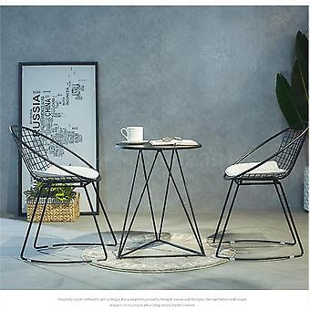 Nordic Hollow Wire Stuhl Kreative Möbel