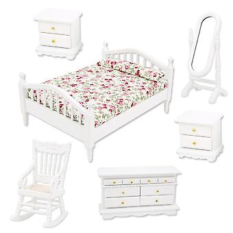 Dollhouse Furniture Set - Bedroom Accessory Kits