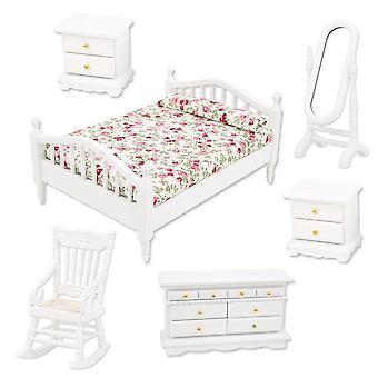 Set di mobili Dollhouse - Kit accessori per camere da letto