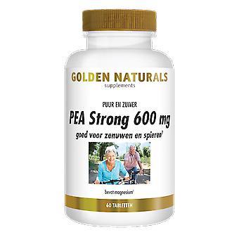 Naturals Dourados PEA Strong 600 mgs (60 comprimidos veganos)