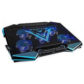 Suport laptop și răcitor cu LED 44x32x3 cm – Antiderapant – Suport reglabil pentru laptop