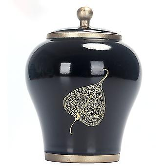 Luxurious Pet Cremation Memorial Urn Jar For Dog Cat Bird Mouse Ashes Storage