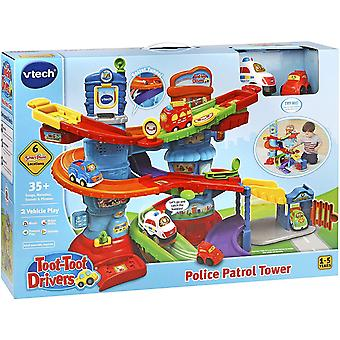 Vtech Toot Toot Drivers Police Patrol Tower