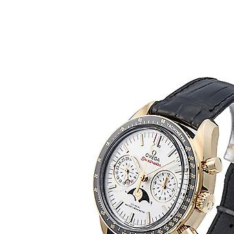 Omega Speedmaster 18kt Yellow Gold Moon Phase Chronograph Automatic Men's Watch 304.63.44.52.02.001