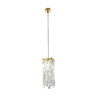 Kolarz PRISMA - Designer Crystal Hanglamp Gepolijst Chroom, 1x G9