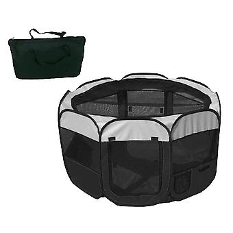 All-Terrain' Ligero fácil plegado de alambre enmarcado Collapseable Travel Pet Playpen - 1Ppbwmd