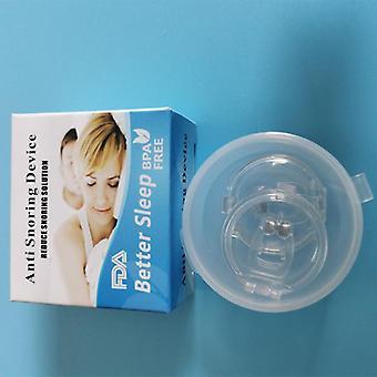 Silicona magnética anti ronquido ronca clip de nariz