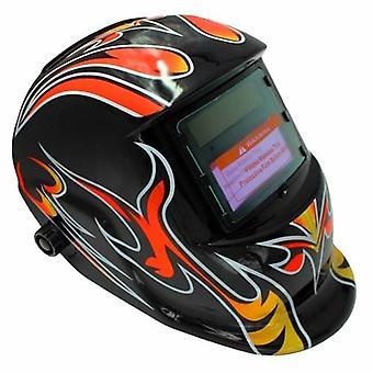 Solar Powered Welding Helmet Auto Darkening Hood Adjustable for Mig Tig Arc Welder Mask Electric Welding Mask
