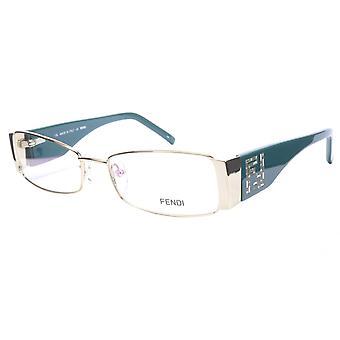 FENDI النظارات الإطار F932R (758) خلات الذهب الأزرق إيطاليا أدلى 52-16-135، 28