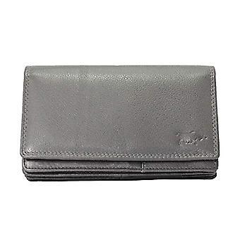 Arrigo Unisex 01c-301r-rfid Harmonica Wallet, L, (Grijs), Large