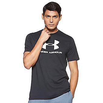 تحت درع Sportstyle شعار تي 1329590 تي شيرت، أسود (أسود 1329590/001)، متوسطة الرجال