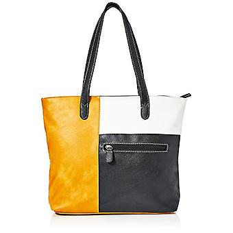 N.V. Bags KYLIE, Women's Bag, Mustard/Black