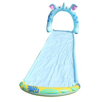 Water slides childrens water slides water sports, summer toys with built-in sprinklers