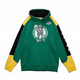 Mitchell & Ness Fusion Fleece Nba Boston Celtics FPHDMI19033BCEKYGN universal hele året menn sweatshirts