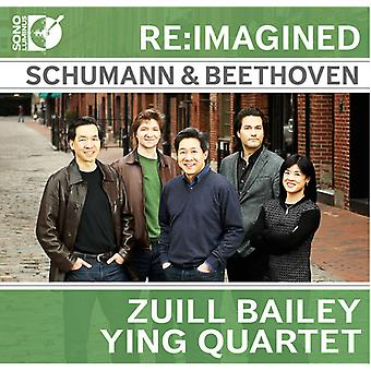 Beethoven / Schumann / Ying Quartet - Re-Imagined: Schumann & Beethoven for Cello [CD] USA import