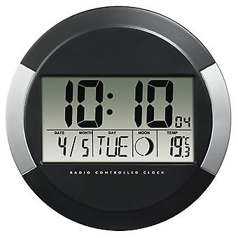 Hama Radio DCF Horloge PP-245 Noir