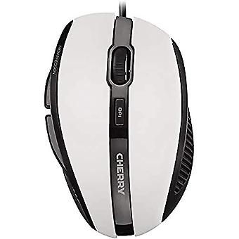 CHERRY MC 3000 5-knapp USB optisk mus - ljusgrå