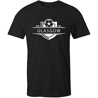 Sporting empire queen's park 1867 established badge football t-shirt