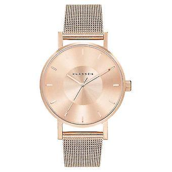 Klasse14 Volare 36mm Rose-Gold Milanese Mesh Bracelet VO14RG003W Watch