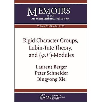 Rigid Character Groups - Lubin-Tate Theory - and $(/varphi  -/Gamma )