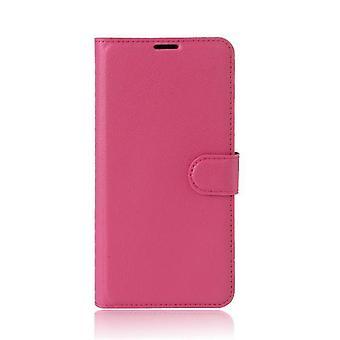 Xiaomi Mi Note 2 Irrotettava Folio nahka kuori Kotelo - Vaaleanpunainen