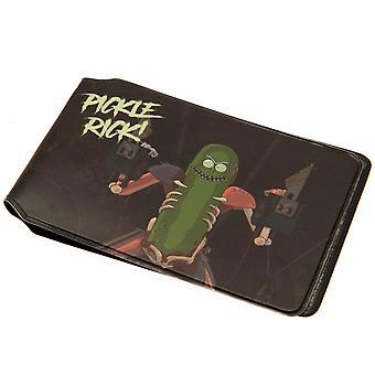 Rick ja Morty kortin haltija suolakurkku Rick virallinen lisensoitu tuote