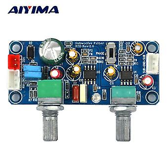 Aiyima Low Pass Suodatin Basso Subwoofer Preamp vahvistin Levy Single Power Dc