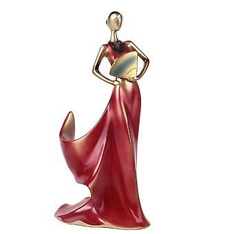 Beauty Girl Model Wine Rack Whisky Holder Shelf Bottle Rack Practical Sculpture Stand Home Trays