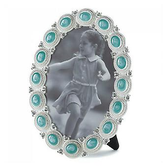 Accent Plus Sea Blue Gems Photo Frame - 4x6, Pack of 1