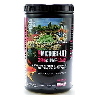 Microbe-Lift Spring & Summer Cleaner for Ponds - 1 lb (Treats over 800 Gallons)