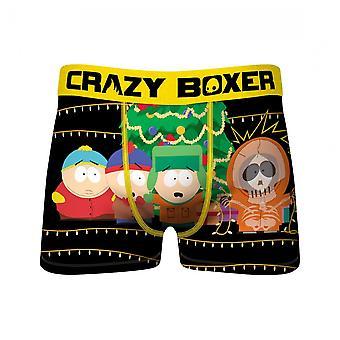 Crazy Boxers South Park Kenny Christmas Light Men's Boxer Briefs