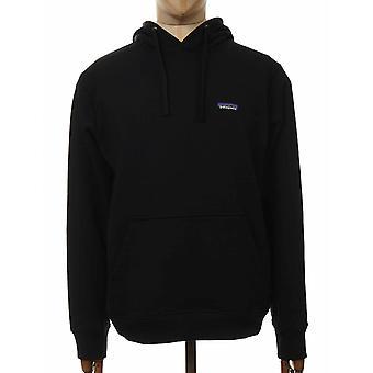 Patagonia P-6 Etikett Uprisal Hooded Sweatshirt - Svart