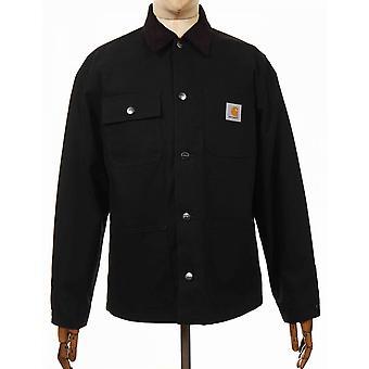 كارهارت WIP ميشيغان معطف العضوية - أسود