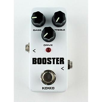 Mini Booster Pedal Portable 2-band Equalized Guitar Effects High Quality