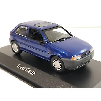 Maxichamps 940085061 Ford Fiesta 1995 Metallic Blue 1:43 Scale