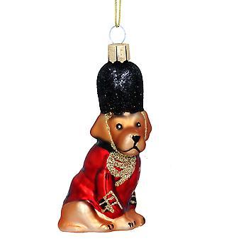 Gisela Graham Novelty Christmas Dog Dec