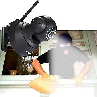 Sricam Wireless Ip Webcam Cámara Visión Nocturna 11 Led Wifi Cam M-jpeg Vídeo