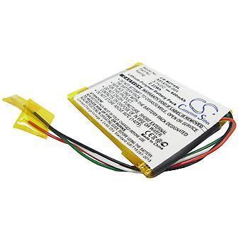 Battery for Microsoft Zune 16GB 4G 8G Flash 4GB 8GB X814398-001 N59777 HSA-00001