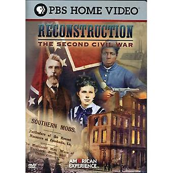 Reconstruction-Second Civil War [DVD] USA import