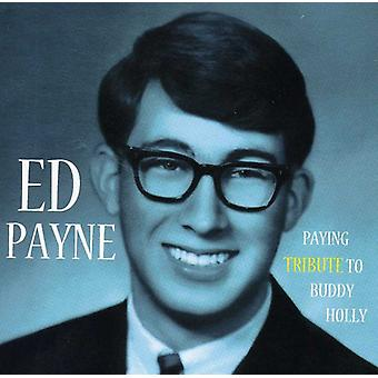 Ed Payne - payer hommage à Buddy Holly [CD] USA import