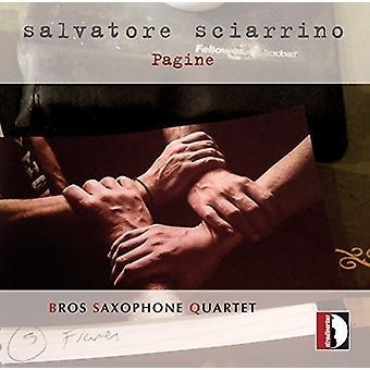 Anonymous / Bach, J.S. / Gershwin - Salvatore Sciarrino: Da Concerto Per 4 Saxofoni [CD] USA import