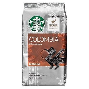 Starbucks Kolumbie pečená mletá káva
